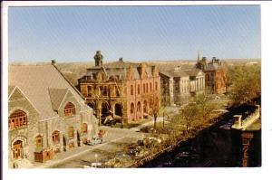Market, Post Office, Provincial Building, Charlottetown Prince Edward Island,