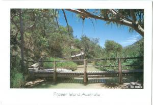 Australia, Fraser Island, Eli Creek, 1999 used Postcard