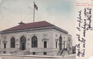 MENOMINEE, Michigan, PU-1906; Post Office