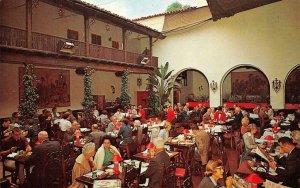 EL PASEO RESTAURANT Patio Garden Santa Barbara, CA c1960s Vintage Postcard