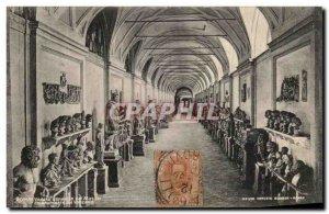 Old Postcard Veduta Roma General and Musea Chiaramaata Vancana