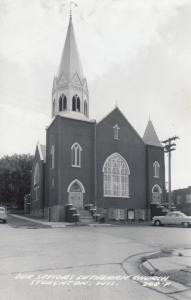 RP: STOUGHTON, Wisconsin, PU-1967; Our Saviours Lutheran Church