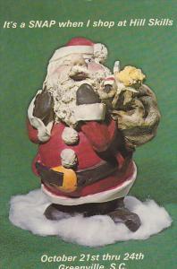 Santa Clause Sculpture, Hill Skills Crafts and Arts, Greenville Memorial Audi...