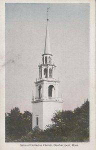NEWBURYPORT , Massachusetts , 00-10s ; Spire of Unitarian Church