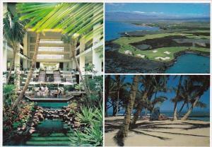 Hawaii Kawaihae Kohala Coast  Mauna Lani Boy Hotel Multi View Golf Course