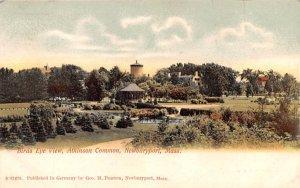 Bird's Eye View  Newburyport, Massachusetts Postcard