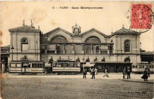 CPA PARIS (14e) Gare Montparnasse. (535979)