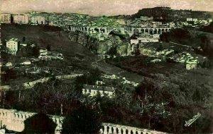 Algeria Constantine Vue Generale Bridge General view Postcard