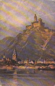 Laubach und die Marksburg Germany