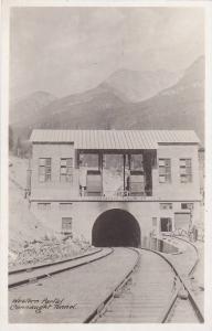 RP : Western Portal , Connaught Railroad Tunnel ,  B.C. , Canada , 20-40s