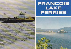 Canada Ferry Francois Lake Ferries British Columbia