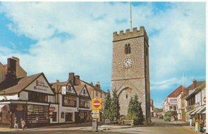 Devon Postcard - Clock Tower - Newton Abbot - Ref 1389A