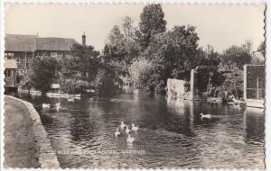 Hampshire; Andover, The Mill & River Anton RP PPC, 1960 Local PMK, By Valentines
