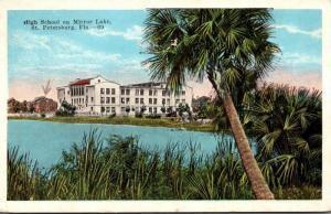 Florida St Petersburg High School On Mirror Lake