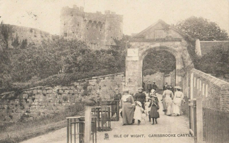 Isle of Wight , Carisbrooke Castle , 00-10s ; TUCK 2117