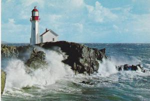 Lighthouse , Sheringham Point , Vancouver Island , B.C. , Canada , 1960-80s