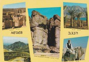 Negeb Mountains, King Salomon's Pillars and A Beduin,1950-60s