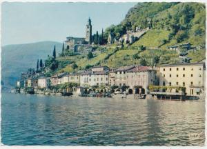 MORCOTE, Lago di Lugano, Switzerland, 1961 used Postcard