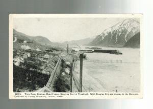 Mint Vintage Treadwell Douglas City Juneau Alaska Real Picture Postcard