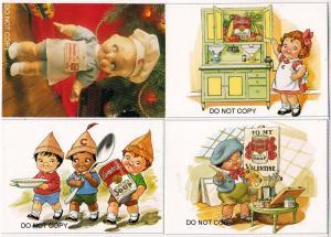 4 - Campbell Kids Cards, Modern