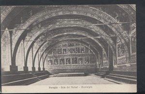 Italy Postcard - Perugia - Sala Dei Notari - Municipio    RS11894
