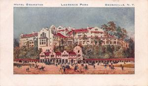 Hotel Gramatan, Lawrence Park, Bronxville, N.Y., Early Private Mailing Card