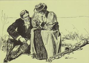 A Good Game For Two by Charles Dana Gibson