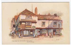 Little Inn Wilkins Micawber Canterbury Kent UK artist signed Anne Croft postcard