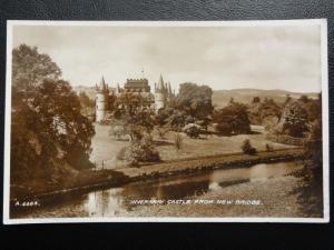 c1940 RPPC - Inveraray Castle from New Bridge