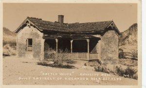 RP: RHYOLITE , Nevada , 1936 ; Bottle House
