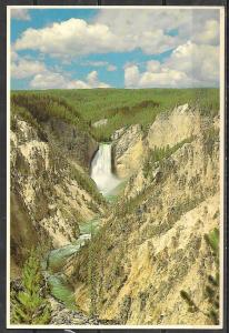 Wyoming, Yellowstone NP, Lower Falls, unused