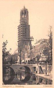 Oudegracht Gaardbrug Utrecht Holland Unused