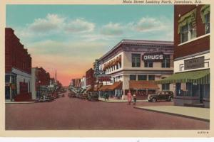 JONESBORO , Arkansas, 1930s , Main Street Looking North