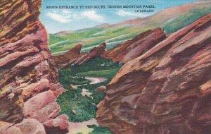 South Entrance To Red Rocks Denver Mountain Park Denver Colorado