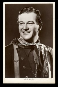 b1609 - Film Actor - John Wayne - Picturegoer No.797b - postcard