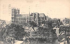 Westminster Abbey from South East 1936