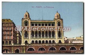 Postcard Old ALGIERS the prefecture