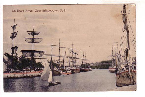 Tall Ships La Have River Bridgewater Nova Scotia Blue Nose Series Lower North...