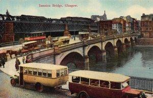 Jamaica Bridge, Glasgow, Scotland, Early Postcard, Unused