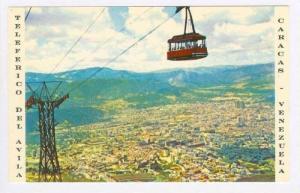 Vista Panoramica De Caracas Desde El Teleferico Del Avila, Caracas, Venezuela...