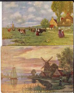 Netherlands Scenes by Wilh. Eilers Unused