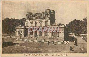 Old Postcard Rochefort sur Mer Hotel PTT