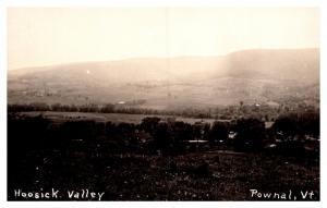 Vermont  Aerial View of  Hoosick Valley , Powhal    ,  RPC