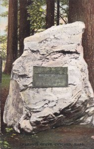 CONCORD, Massachusetts, 1900-1910´s; Emersons Grave