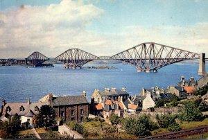 Scotland Firth Of Forth The Forth Bridge