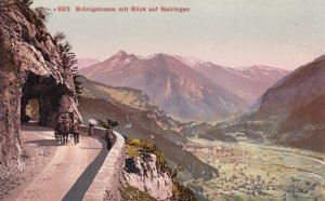 Brunigstrasse Blick Auf Meiringen Old Swiss Switzerland Postcard