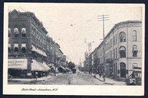 Third Street Jamestown New York unused c1905