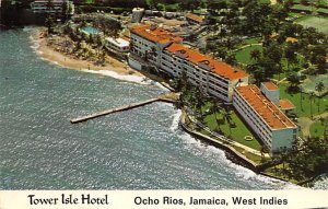 Jamaica, Jamaique Post card Old Vintage Antique Postcard Tower Isle Hotel Och...