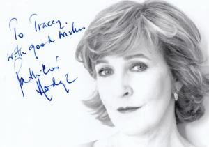 Patricia Hodge The Life & Loves Of A She Devil Large Hand Signed Photo