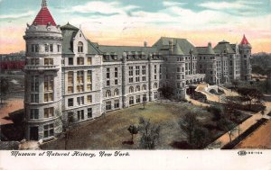 Museum of Natural History, New York City, Early Postcard, used in 1908